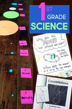 First Grade Science! First Grade science curriculum with lesson plans, science experiments, and more! Your class has never had this much fun with science. First Grade Curriculum, First Grade Lessons, 1st Grade Science, First Grade Activities, Science Curriculum, First Grade Classroom, Science Resources, First Grade Math, Science Activities
