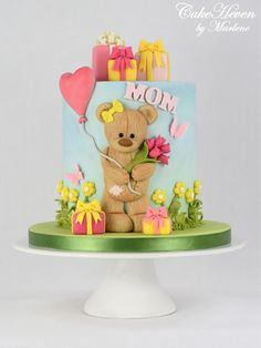 Mother's Day Cake - cake by CakeHeaven by Marlene