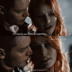 """#Shadowhunters 1x03 """"Dead Mans Party"""" - Clary and Jace"""