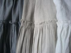 Full Bloom Cottage: linen curtain colors
