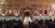 Medieval, Restaurant, Travel, Design, Viajes, Diner Restaurant, Mid Century, Destinations