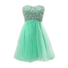 Cute Short Strapless Mint Prom Dresses 2015 Prom Night Styles ❤ liked on Polyvore featuring dresses, vestidos, robes, strapless dresses, mint prom dress, green dress, mint dress and short prom dresses