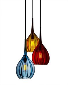 hand blown lamps