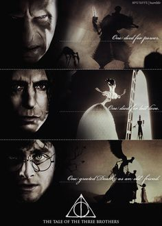 Are Snape and You-Know-Who the other descendants of the three brothers? Harry Potter Severus, Harry Potter Puns, Harry Potter Feels, Harry Potter Tumblr, Harry Potter Pictures, Harry Potter Universal, Harry Potter Characters, Severus Snape, Image Triste