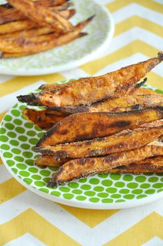 Pumpkin Spice Baked Sweet Potato Fries | My Little Celebration & cornstarch
