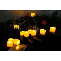 TOPCHANCES Flameless Candles 2Pcs Battery Operated Candles Flickering Flameless Resin Pillar LED Candle Lights with 4 /& 8 Hour Timer for Home Party Wedding Christmas Valentines Day Decoration