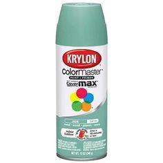 Amazon.com: Krylon 53529 Catalina Mist 'Satin Touch' Decorator Spray Paint - 12 oz. Aerosol: Automotive   SEA GLASS SPRAY PAINTS