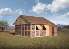 Shigeru Ban designs modular shelters for Nepal earthquake victims.