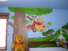 Love winnie the pooh rooms for baby
