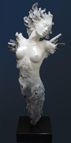 """Ira Reines, Icara   Bronze edition of 95 22""""w x 51""""h x 16""""de…   Redwood Media Group   Flickr"""