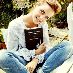 Emma Watson promotes Carrie Brownstein's 'Hunger Makes Me a Modern Girl'