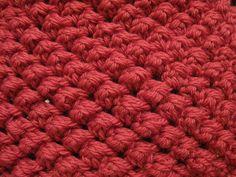 Crochet Stitch - Meladora's Raspberry Stitch Tutorial