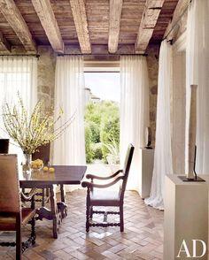 dustjacket attic: Interior Design | Italian Style Villa