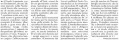 SCRIVOQUANDOVOGLIO: DESULO:STRADA CHIUSA,I GENITORI DEGLI STUDENTI PRO...