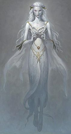The Lady of the Lake from The Child Theif by Brom