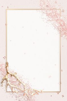 Sparkly frame psd on glitter pink background | free image by rawpixel.com / PLOYPLOY Floral Wallpaper Phone, Gold Wallpaper Background, Phone Wallpaper Design, Frame Background, Wallpaper Backgrounds, Glitter Frame, Instagram Background, Creative Background, Floral Border