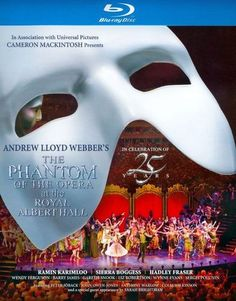 The Phantom of the Opera at the Royal Albert Hall [Blu-ray] [English] [2011] - Front_Standard