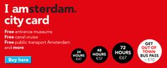 Explore everything the city has to offer with the Iamsterdam city card.