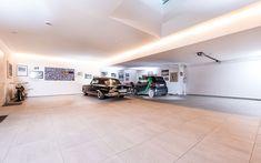 Architektenvilla mit atemberaubendem Panoramablick auf den Bodensee Villa, Track Lighting, Modern, Ceiling Lights, Home Decor, Sous Sol, Living Dining Rooms, Storage Room, Underground Garage