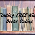Free Online Books For Children