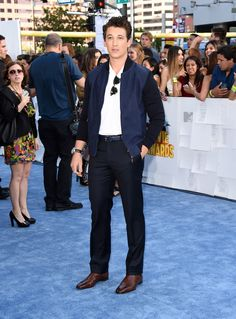 Miles Teller | All The Looks From The 2015 MTV Movie Awards