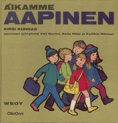 Oh, didn't remember all 'Aapinen' books we had at home! I loved the shape of this book. Vintage Toys, Retro Vintage, Nostalgia, Good Old Times, Big Family, Finland, Childhood Memories, This Book, Marimekko