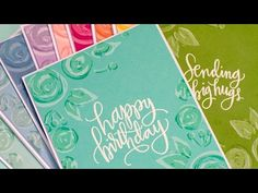 Video: Shadow Stamping + Blog Hop + Giveaway - Jennifer McGuire Ink