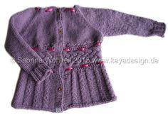 Strickcardigan Unikat/ knitted cardigan size 86/92
