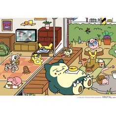 Pokemon Atsume