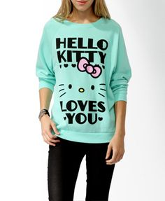Hello Kitty® Loves You Pullover   FOREVER21