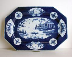 Bow Porcelain Factory, Platter, 1755/65 /   Soft-paste porcelain with enamel decoration
