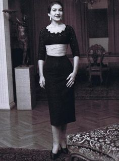 My favorite Vintage Icon is Maria Callas, most famous Opera Diva that has ever lived. For my a true inspiration, both as a singer and as a lover of beautiful vintage clothing <3  #topvintage @TopVintage Retro Boutique