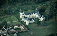 Le Gué-Péan castle (Loir-et-Cher department, France).