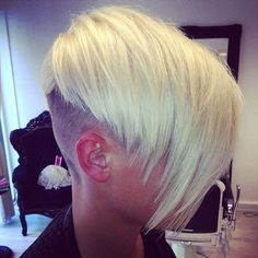 Q: How Should I Style My Half-Shaved Head After Brain Surgery? - Beauty Editor: Celebrity Beauty Secrets, Hairstyles & Makeup Tips Hair Color And Cut, Haircut And Color, Love Hair, Great Hair, Undercut Hairstyles, Cool Hairstyles, Shaved Hairstyles, Undercut Pompadour, Trending Hairstyles