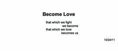 Become Love ~ Quantum Meditation #2062