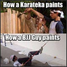 Ahaahaha! Martial arts humor ;p