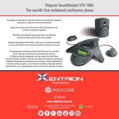 #MiExMeEnseno #MisLunesSonMejorPorque las juntas las hacemos con el Teléfono para Conferencia Polycom VTC 1000 de venta en Xentrion S.A. de C.V.  Contáctanos info@xentrion.com.mx • 01 [55] 5662 6377  WhatsApp: [55] 1536 3103  Visítanos en nuestra Tienda Ubicada en: Insurgentes Sur 1768 P.B. • Col. Florida • Cp. 01030 • Del. Alvaro Obregón • Ciudad de México  www.xentrion.com.mx