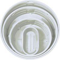 920 Gallon White Round White Stock Tank w/1-1/2 Drain Plug 106 x 29   U.S. Plastic Corp.