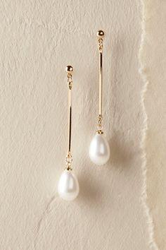 Gold Thetis Earrings | BHLDN