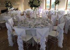 Ghost Chairs, Chair Covers, Table Settings, Table Decorations, Furniture, Home Decor, Chair Sashes, Decoration Home, Room Decor