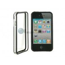 CO-49 Plastic Protective Ultra-slim iPhone 4 & 4S Bumper Frame Skin Case Cover