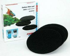 Eheim Carbon Filter Pads for 2211 Canister Filter - 3 pk - ON SALE! http://www.saltwaterfish.com/product-eheim-carbon-filter-pads-for-2211-canister-filter-3-pk