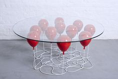 Creative Review - UP Balloon Coffee Table, Round Edition 2015