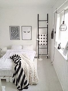 Swiss cross blanket on a ladder hanger