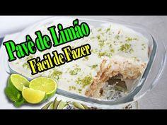 Pavê de Limão Fácil de Fazer - YouTube