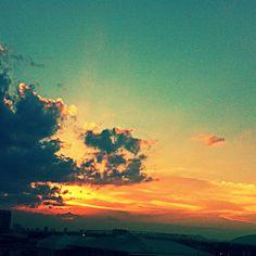 Los Crepúsculo mas hermoso de Venezuela en la ciudad de Barquisimeto