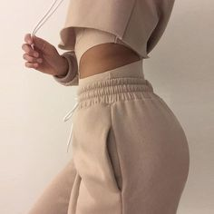 SEXY HOODED TWO-PIECE PANTS