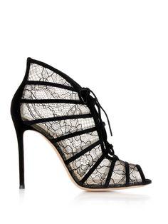 Fresia lace ankle boots | Gianvito Rossi | MATCHESFASHION.COM UK