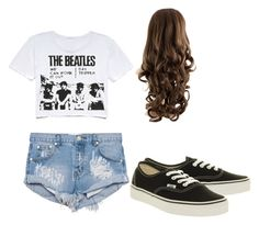 """""""Kya"""" by flawlesssisters ❤ liked on Polyvore featuring One Teaspoon and Vans"""