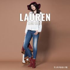 🆕  Lauren - High waist  🆕  #tiffosi #tiffosidenim #newin #fit #fitguide #denim #denimguide #denimcollection #jeans